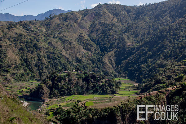 Dramatic Landscape In The Cordillera Of Northern Luzon, Philippines