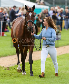 Emily Prangnell and DHI BEAUNESSE at the trot up, Land Rover Burghley Horse Trials 2018
