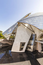 Fondation Louis Vuitton, Bois de Bologne, Paris