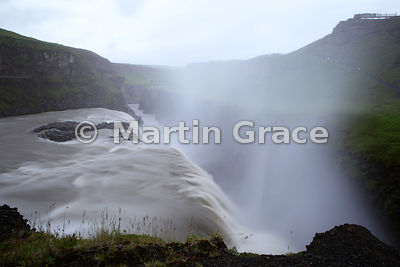 Gulfoss ('Golden Falls') on the River Hvita, south-west Iceland