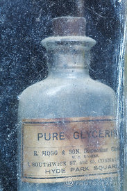 Bottle of Pure Glycerine
