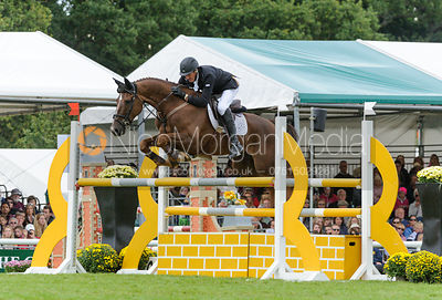 Sir Mark Todd and OLOA - show jumping phase, Burghley Horse Trials 2013.