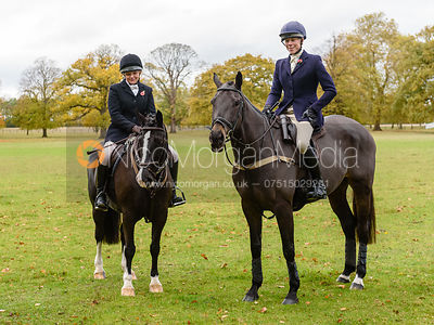 Anna Lane, Sophie Lane at Fitzwilliam Hunt Opening Meet 2018.