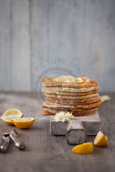 Classic Lemon and Sugar Pancakes