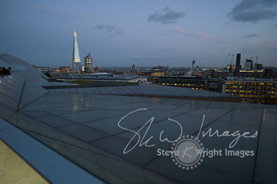 The Shard and London Skyline at Night
