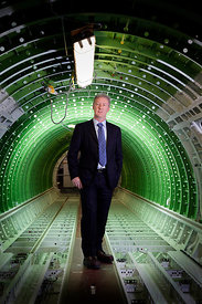 29.5.12.Bombardier Aerospace, Belfast, Northern Ireland..Pictured is Michael J Ryan, CBE.Vice President and General Manager, ...