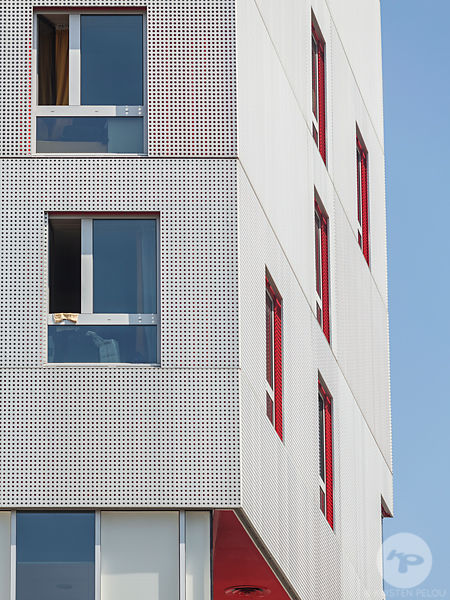 Mixed use building, Paris, France.