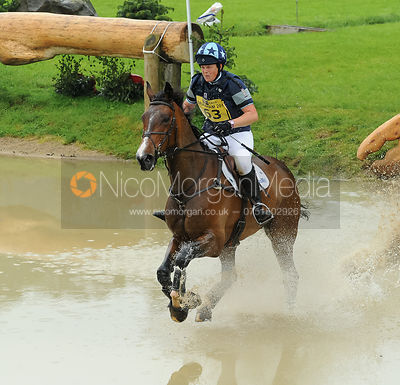 Lucy Wiegersma and MR. CHUNKY - Bramham 2014
