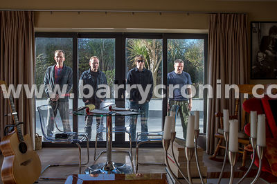 10th February, 2019.The band Yelling Bones are from left: Gerry McGovern, Brian Malone, Fionn and Myles McDonnell.. Photo:Bar...