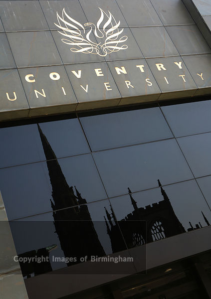Coventry University, West Midlands, England.