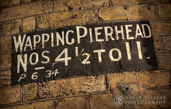 Wapping Pierhead Sign
