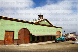 Restored former railway station , Caldera , Region III , Chile
