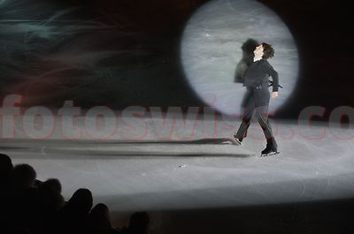 Stephane Lambiel Ice Skating Champion Art on Ice Saint (St.) Moritz Photo