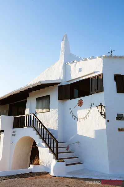 Whitewashed house, Binibequer Vell, Menorca, Spain