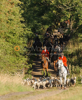 The Cottesmore Hunt at Furze Hill 10/9