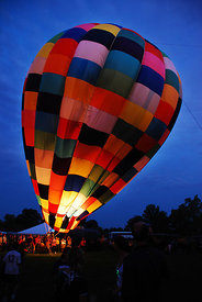 The Great Forest Park Balloon Glow