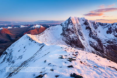 BP2918B - Ben Nevis and the Carn Mor Dearg arête
