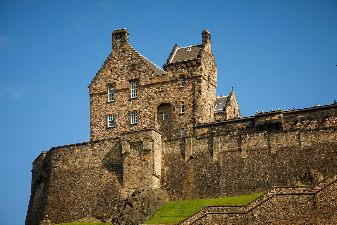 Edinburgh Castle fortress
