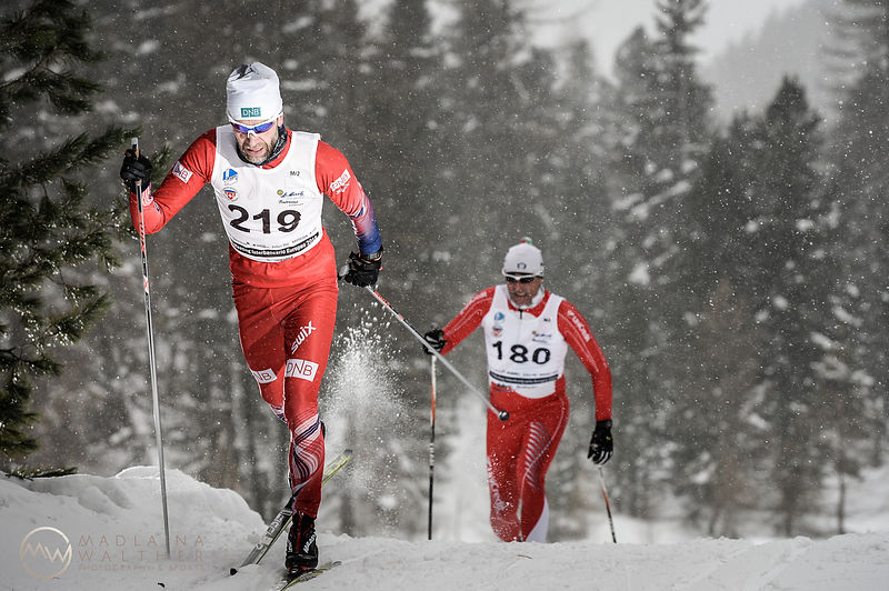 Interbancario cross-country race. Pontresina, 2018.