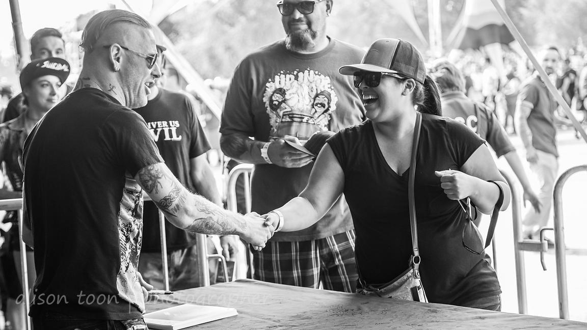 Alison Toon Photographer Corey Taylor Signing
