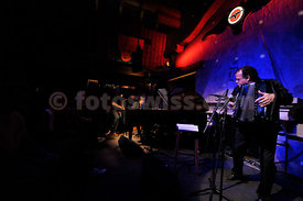 Jan Lundgren  in concert with Richard Galliano  at Festival da Jazz- Live at Dracula Club in Saint St.Moritz