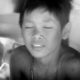 """Little Buddha of Tonle Sap"""