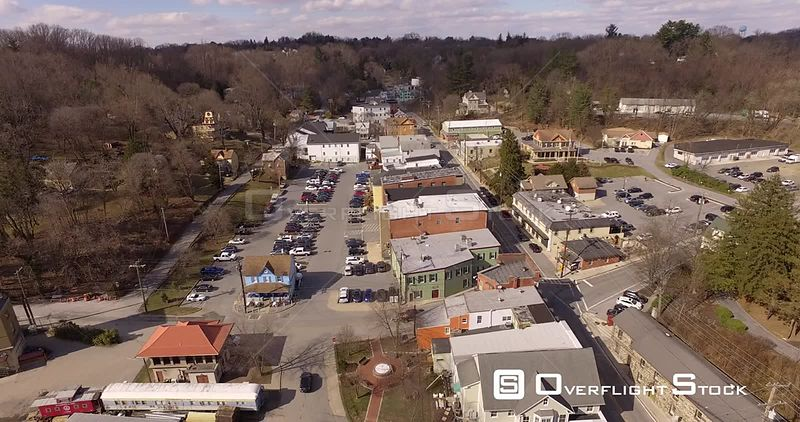 Drone Footage Sykesville Maryland USA