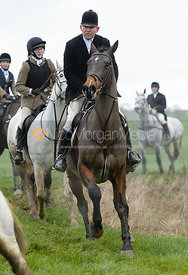 Tim Hercock at Knossington Spinney - The Fitzwilliam Hunt visit the Cottesmore at Burrough House