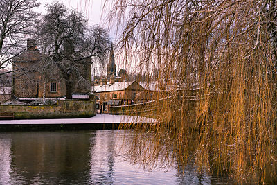 Winter morning in Bakewell