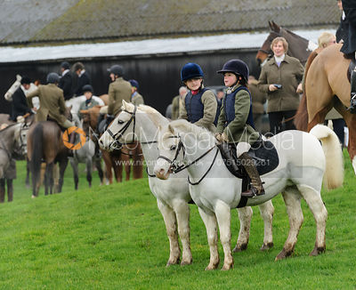 Amelia Murray and Fenella Hudson - Bedale at Tunstall, Catterick