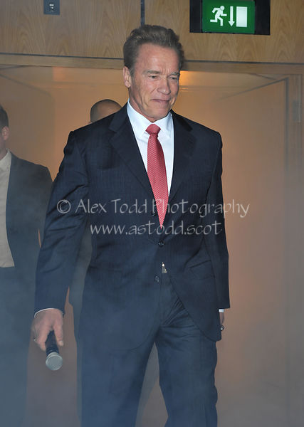Arnold Schwarzenegger in Edinburgh
