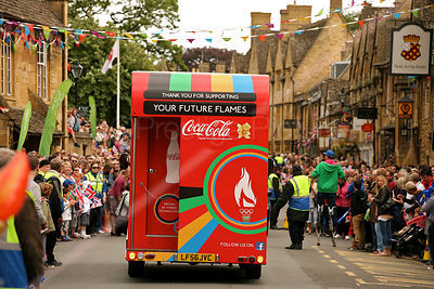 Coca Cola Promotional Vehicle at Olympic Torch Relay