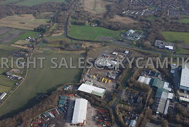 Skelmersdale aerial view of the Rodco Works