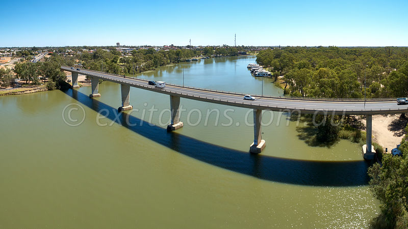 George Chaffey Bridge, Mildura, Australia