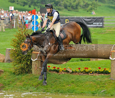 KEEP YOUR OPTIONS OPEN and Ewart Woolley, Bramham Horse Trials, 2010