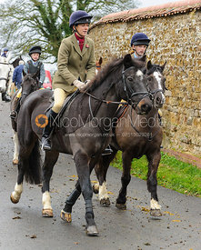 Frankie Wyatt - The Cottesmore Hunt at Tilton on the Hill, 9-11-13