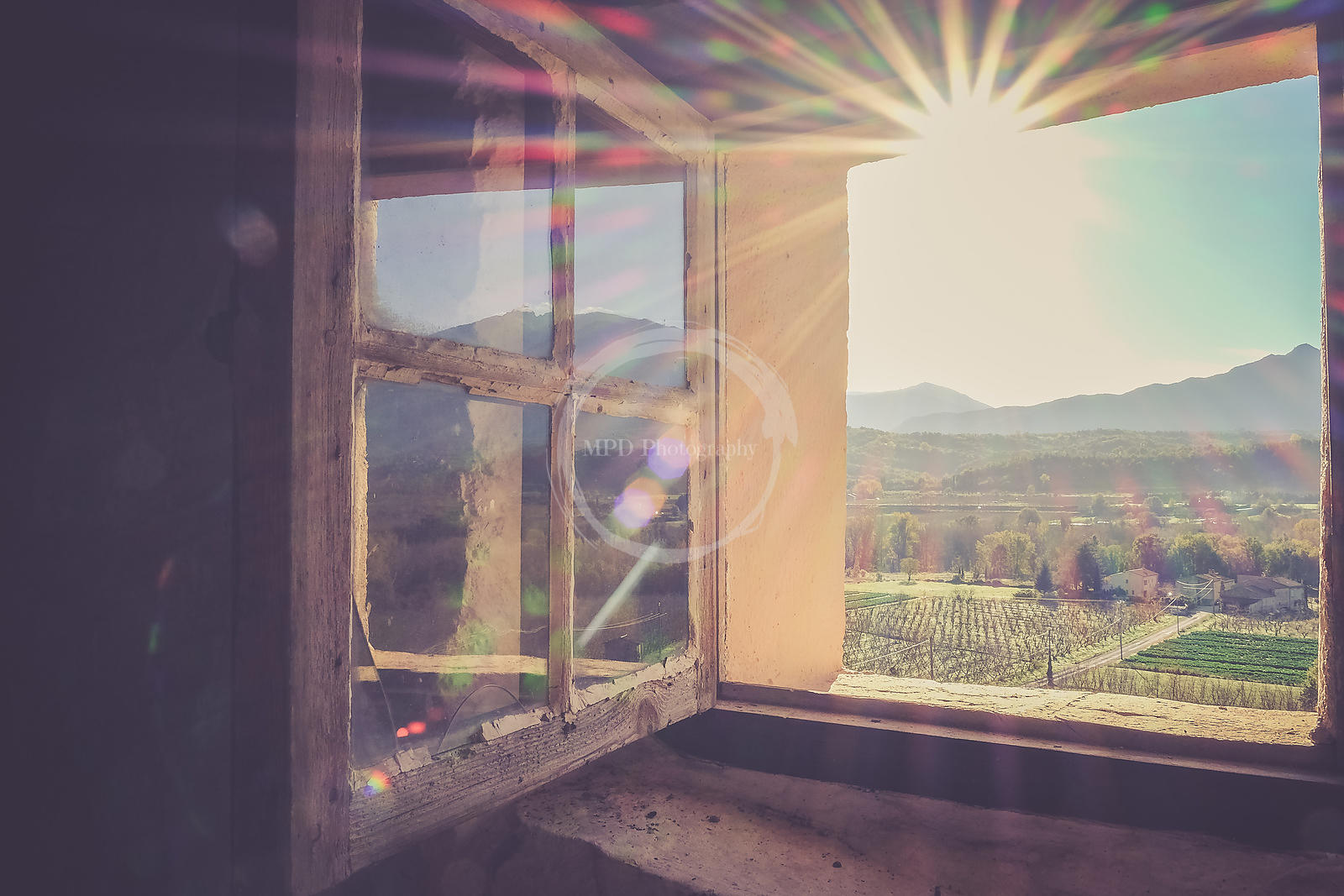 Window onto Canigou