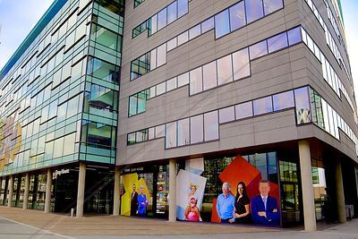BBC Quay House at Media City Salford Manchester