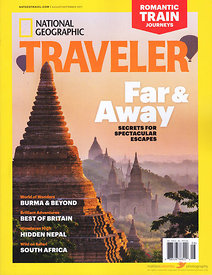 Cover National Geographic Traveler Aug Sept 2017