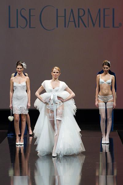 c1fd310dea PARIS: International lingerie Lise Charmel 35 TH anniversary fashion show