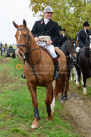 Andy Brown near Gartree Covert - Quorn Hunt Opening Meet 2016