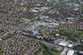 Oldham aerial photograph of the Royal Oldham hospital