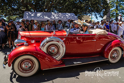 Art Deco Saturday 2012 - Vintage Car Parade.  License Plate = BH2088