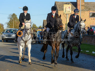 leaving the meet in Great Gidding