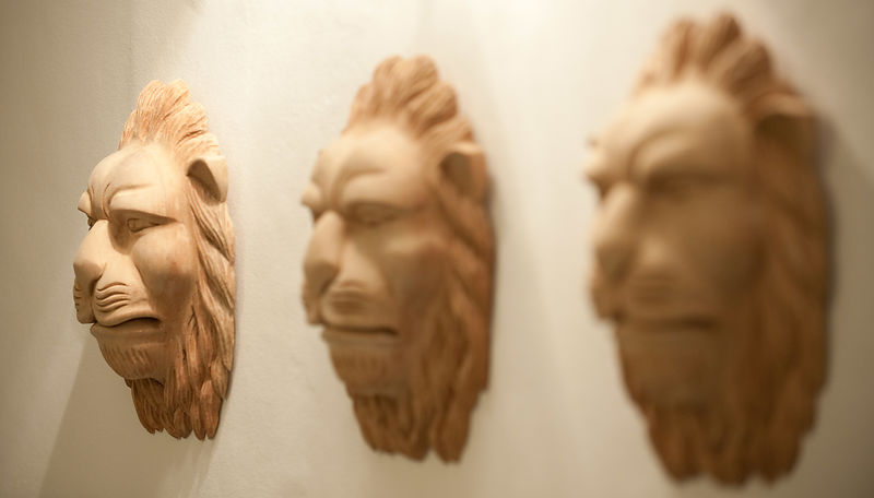 3 Lions Wall Decorations