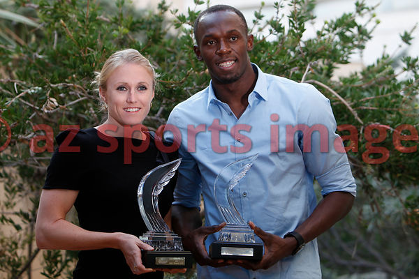Usain Bolt and Sally Pearson Athletes of the year