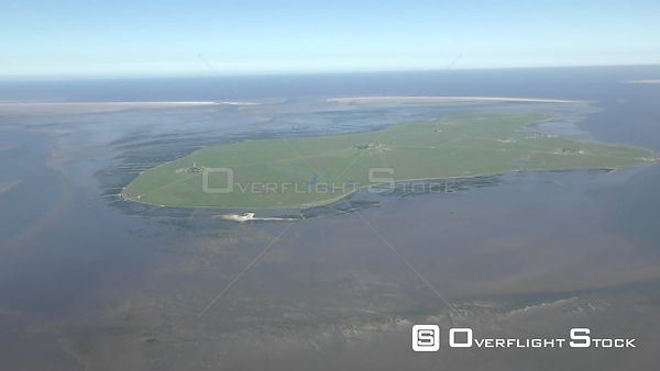 Coastal area of ​​the North Sea - Hooge Island in the state of Schleswig-Holstein
