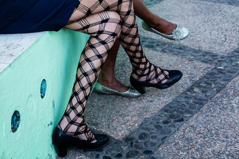 Cuban Fish Net Tights