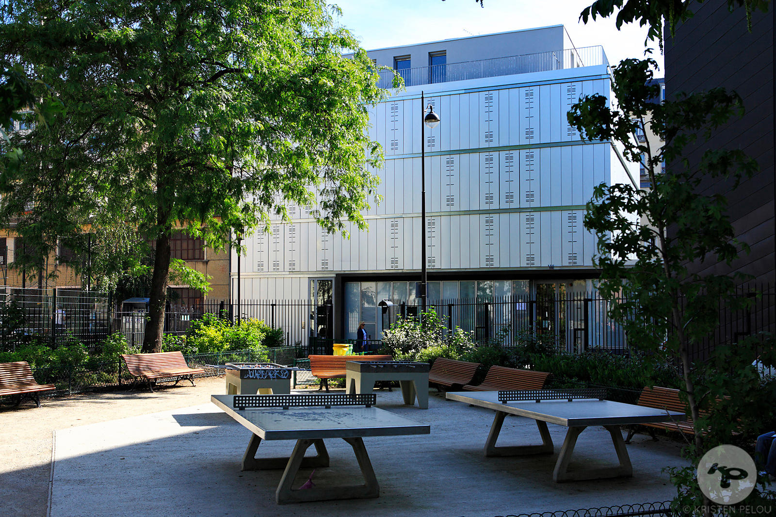 SOCIAL HOUSING & CHILDCARE CENTER PARIS