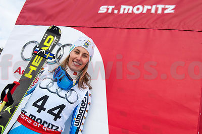 Ski World Cup Ladies Super G St.Moritz